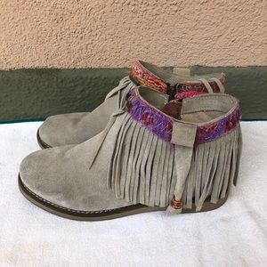 Coolway Shoes - Coolway Fringe Booties